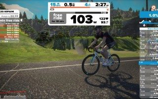 Training with Zwift