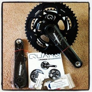 Quarq Cinqo unpacked