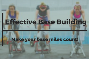 building aerobic base cycling
