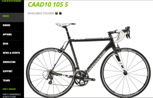 Cannondale CAAD 10 5 105