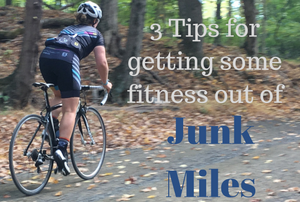 3 tips for getting some fitness out of Junk Miles