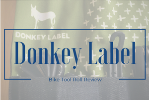 Donkey Label bike tool roll review