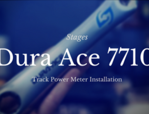 Dura Ace Track Stages Power Meter Install