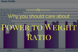 Watts per kilogram and power to weight ratio