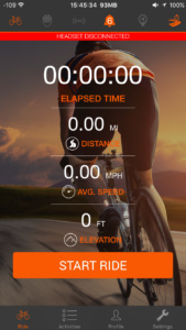 Solos Ride Screen