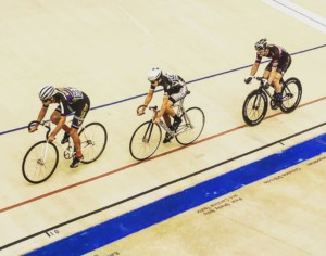 Track cycling training in the base phase