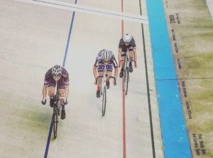 Track cycling training