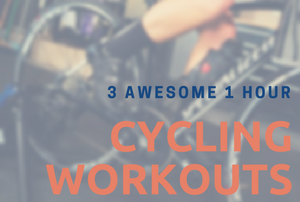 1 hour cycling workouts