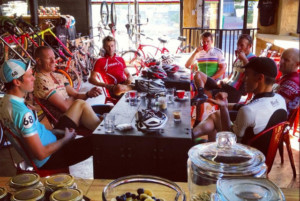 Training camp recovery ride