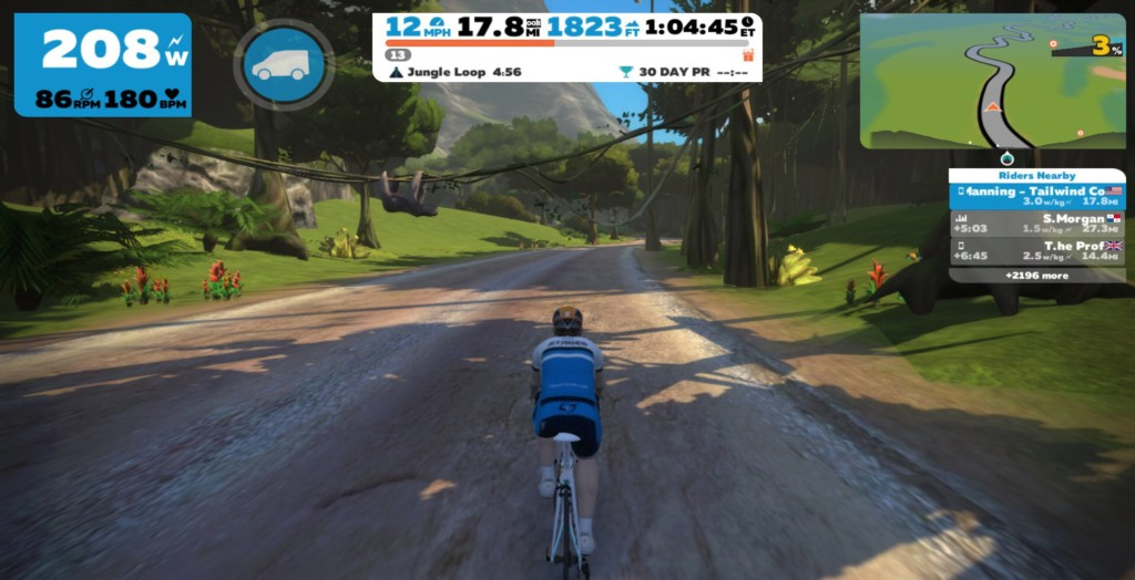 The Zwift Mayan Expansion is beautifully rendered.