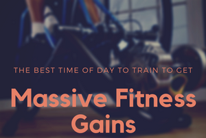 Fitness gains and time of day