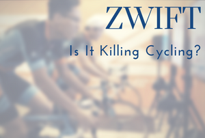 Is Zwift Killing Cycling? | Zwift Crit Racing vs Outdoor Riding?